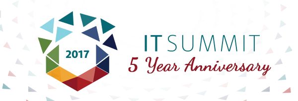 IT Summit 2017 5 Year Anniversary