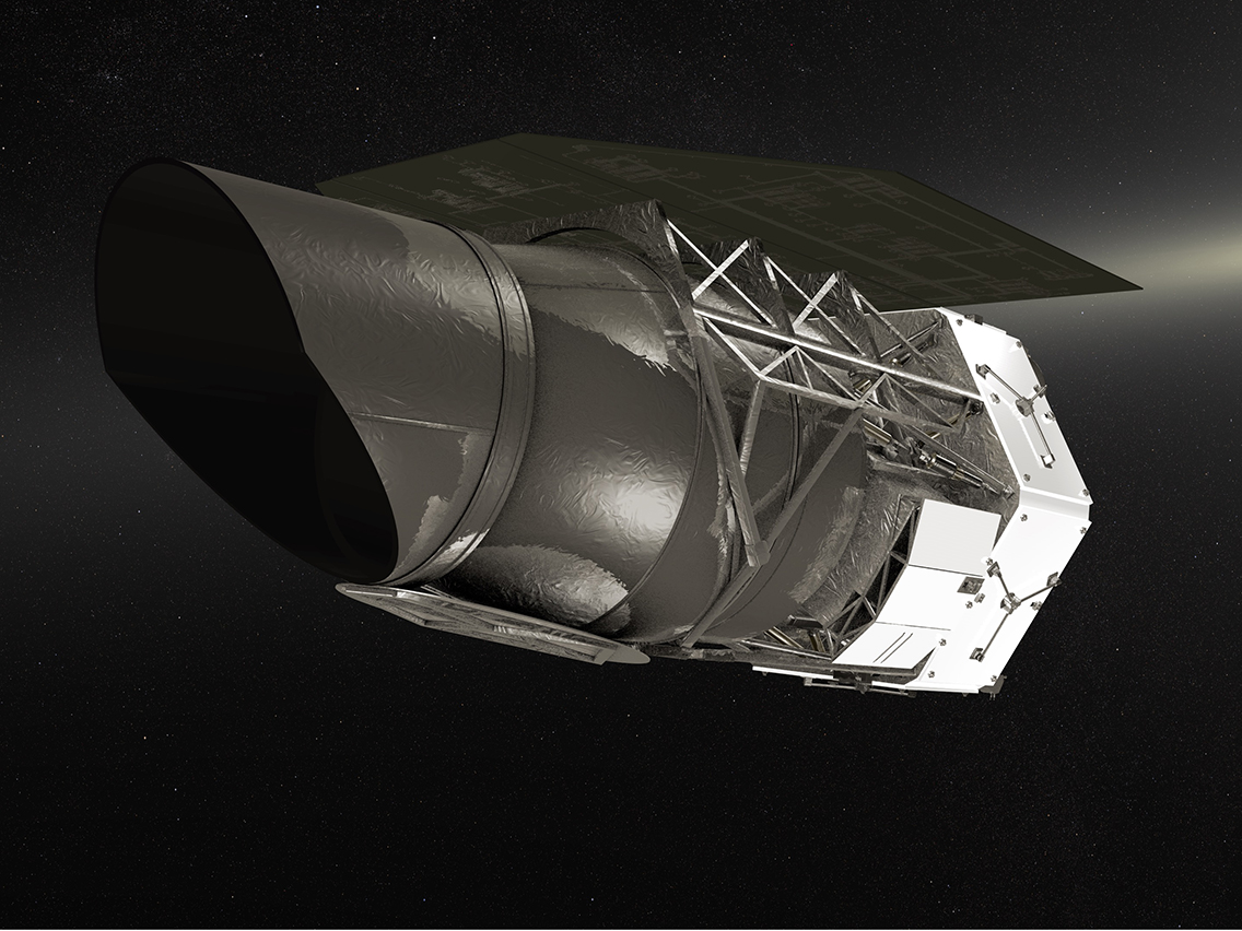 NASA concept illustration of WFIRST instrument