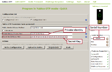 Step by step instructions for configuring Yubikey