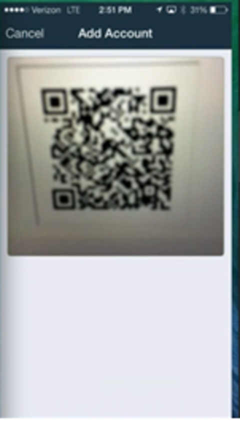 Scan barcode with tablet