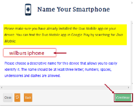 name your smartphone