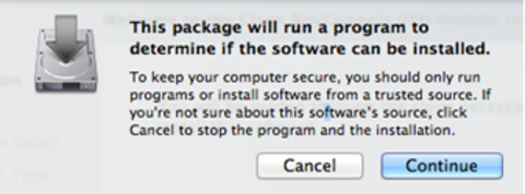 Mac vpn install package