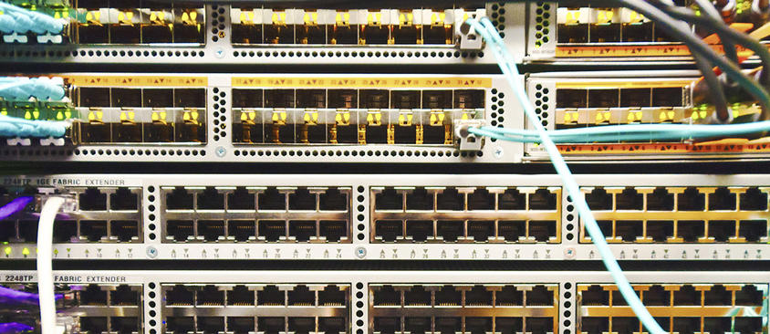 An image of network switches