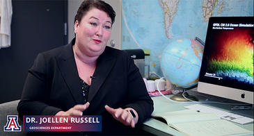 Dr Joellen Russell is one of the researchers featured