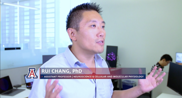Dr. Rui Chang describing his Alzheimer's research in UITS Research Computing video