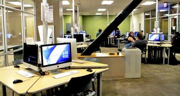Student Union OSCR lab. Photo by Jen Pimentel, The Daily Wildcat